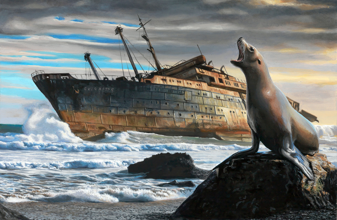 Josh Keyes | Beautiful Creatures Artwork #artpeople